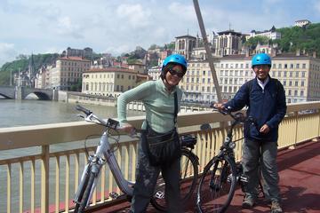 Visite guidée de 3heures en vélo électrique à Lyon avec dégustation...