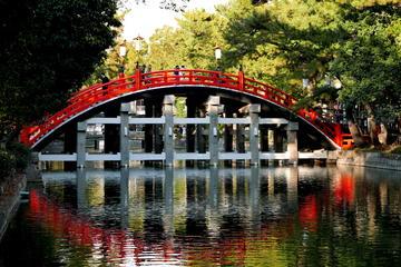Afternoon Tour - Sumiyoshi Taisha Shrine and Food Market Visit