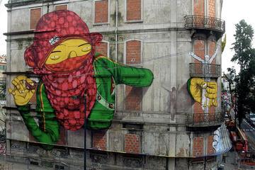 Excursão com verdadeira arte de rua...