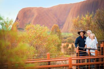 Combinado de Ayers Rock: Base del Uluru y atardecer más Amanecer en...