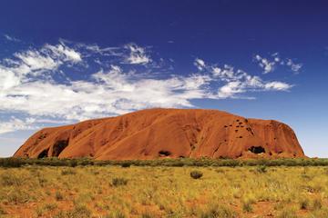 Eenrichtingsshuttle van Uluru, Ayers Rock, naar Alice Springs