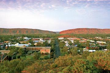 Enkel resa i buss från Alice Springs ...