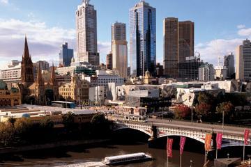Melbourne City sightseeing på morgentur med valgfri sejltur på Yarra