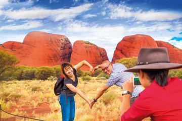 Sonnenaufgang am Uluru und Kata Tjuta - Halbtagesausflug