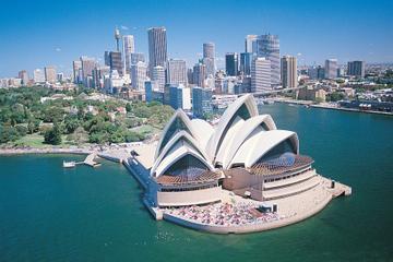 Sydney heldagstur med valgfri sejltur med frokost om bord i Sydney...