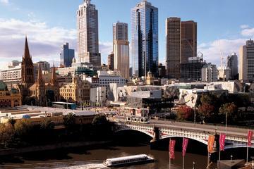 Tour panoramico mattutino della città di Melbourne con crociera