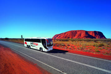 Tre dages tur fra Alice Springs til Uluru (Ayers Rock) via Kings...