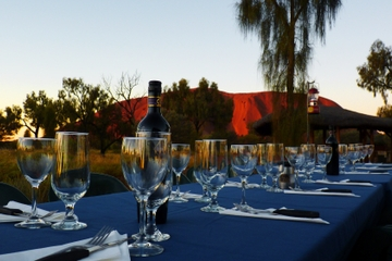 Uluru (Ayers Rock) Outback Barbecue-Abendessen und Star Tour