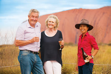 Uluru Base and Sunset Half Day Trip with Optional Outback Barbecue...