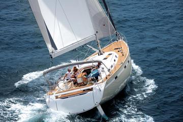 Besichtigungsfahrt im Segelboot ab...