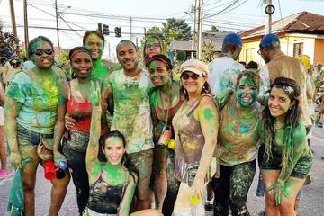 Trinidad Carnival J'Ouvert Street...