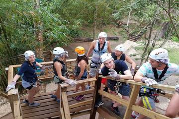 Trinidad Zipline and Hiking Como Tour