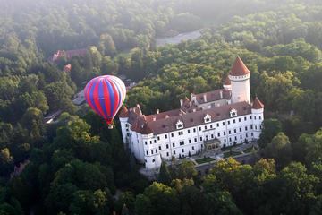 Passeio balão de ar quente por Praga