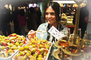 Mercato di San Miguel: tour di degustazione di sherry e tapas a Madrid