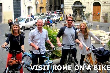 Tour in bici delle principali attrazioni di Roma