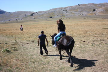 Horse-riding on the hills of Cerrano