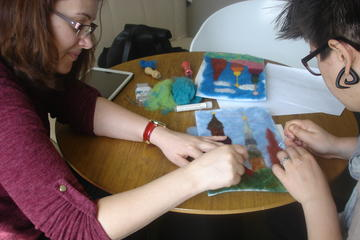 Create a Felted Picture of Riga with...