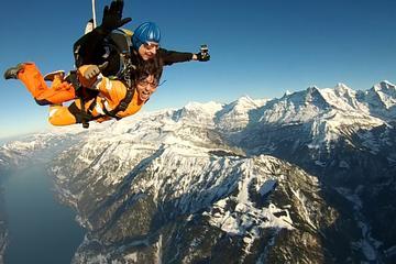 Salto de helicóptero em Interlaken