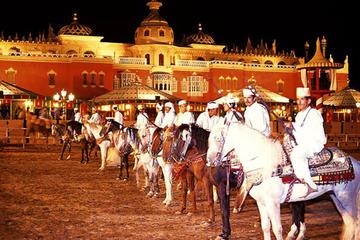 Cena y espectáculo marroquí 'Fantasia Chez Ali' en Marrakech