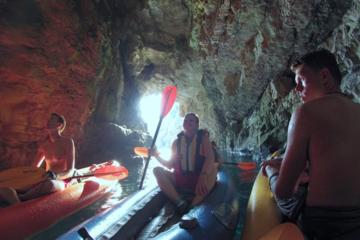 The Blue Cave Kayak and Snorkeling...