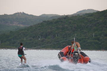 Wakeboarding and Waterskiing Experience in Tivat Bay from Kotor or...