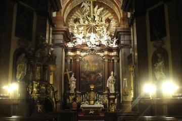 Famoso Concerto de órgão na Igreja de São Francisco em Praga