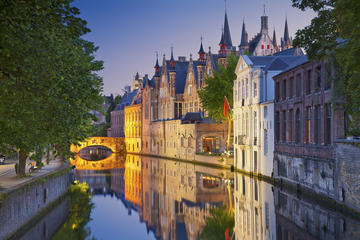 Return Cruise Shuttle Service Zeebrugge to Bruges