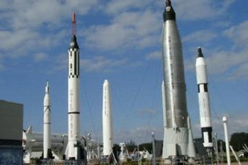Entrada no Centro Espacial Kennedy com turismo de Miami
