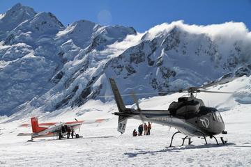 35-Minute Mount Cook Ski Plane and Helicopter Combo Tour