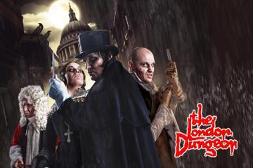 Eintrittskarte für das London Dungeon