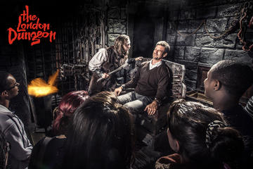 Ingressos para o London Dungeon...