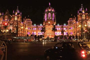 Private 5-Hour Mumbai at Night Tour Including Dinner