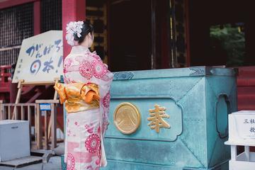 Kimono Walking Tour in Tokyo