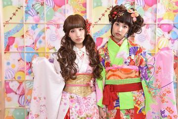 Tokyo Photo Shoot in a Harajuku-Style Kimono