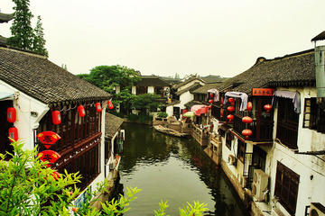 All-inclusive Zhujiajiao Water Village Tour by Public Transportation