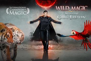Espectáculo de magia Wild de Greg Frewin