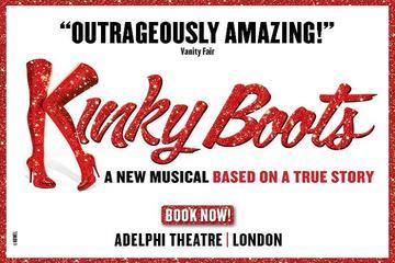 ロンドンのミュージカル:キンキー ブーツ