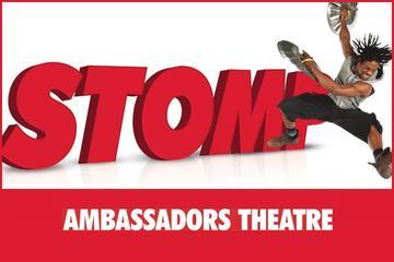 Show do Stomp no Teatro em Londres