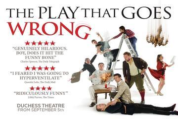 Spectacle de théâtre à Londres: The Play That Goes Wrong