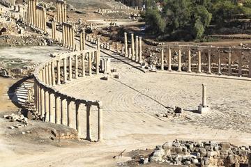 Excursión privada: Excursión de un día a Gerasa y Umm Qais desde Ammán