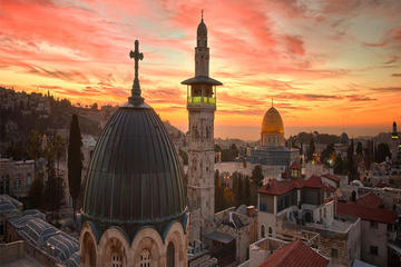 Private 1-Night Jerusalem from Amman...