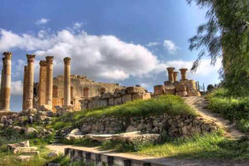 Private Full Day Jerash and Um Qais Tour From Dead Sea