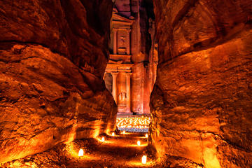 Private Full Day Tour to Wadi Rum and Petra from Aqaba