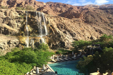 Private Half Day Ma'in Waterfalls and Hot Springs tour from Amman