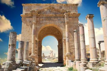 Tour privé d'une demi-journée à Jerash et Amman