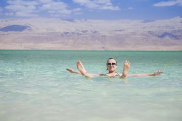 Tour privé d'une demi-journée à la mer Morte