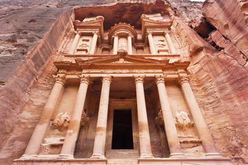 Visite privée: excursion d'une journée à Pétra au départ d'Amman...