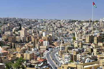 Visite touristique privée de la ville d'Amman avec déjeuner de mezzé...