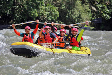 White Water Rafting and Zipline Adventure Day tour