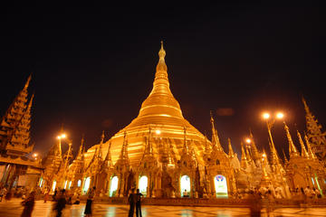 3-Hour Shwedagon Evening Tour in Yangon